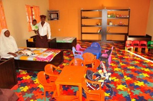 Creche facility provided in Yola