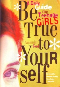 Be True To Yourself Book Cover