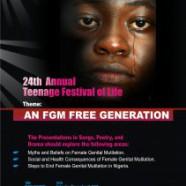 Teenage Festival of Life 2017: An FGM-Free Generation
