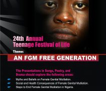 Teenage Festival of Life 2017: An FGM-Free Generation