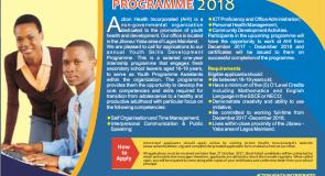 Youth Skills Development Programme 2018 – Apply Now!