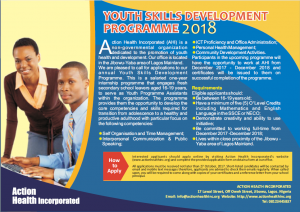Youth Skills Development Programme 2018